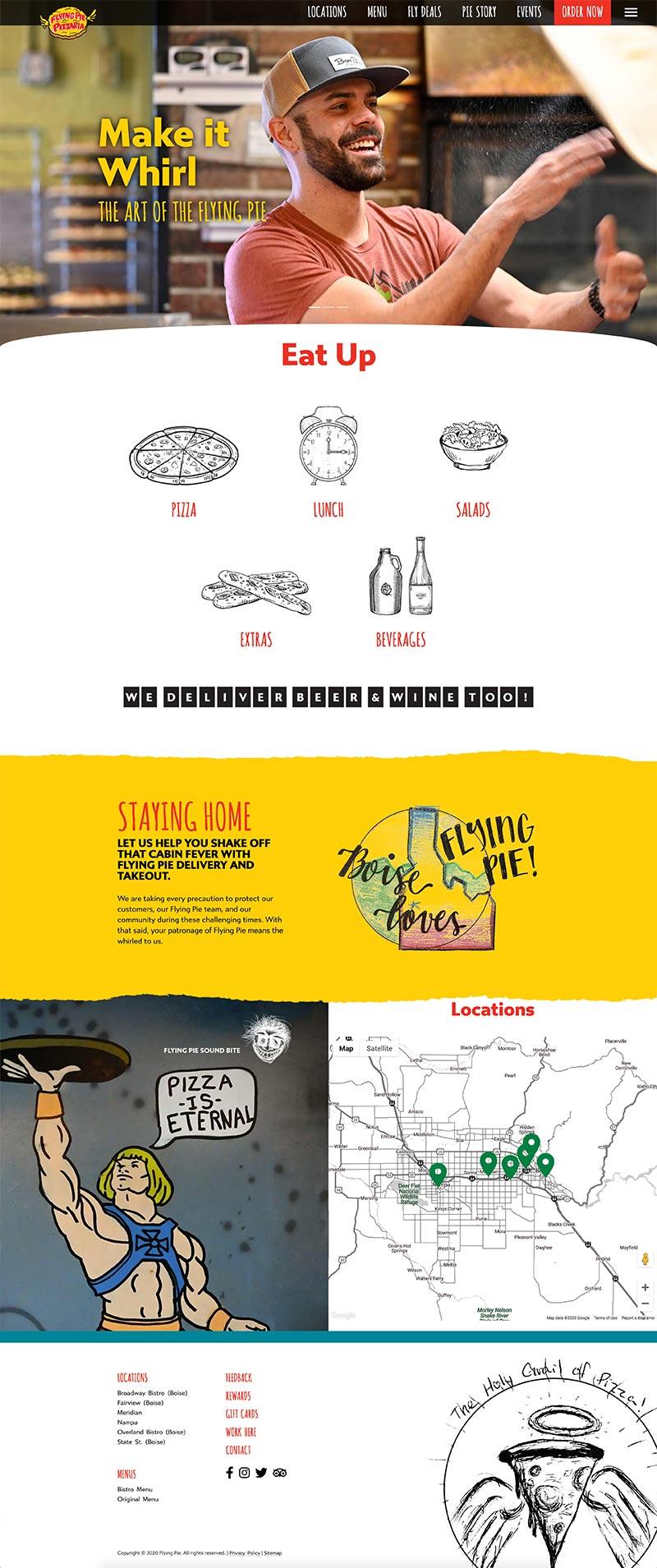 Flying Pie website